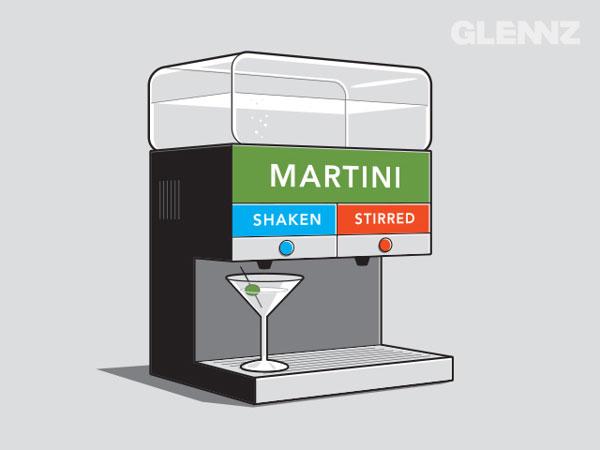 Shaken-Stirred