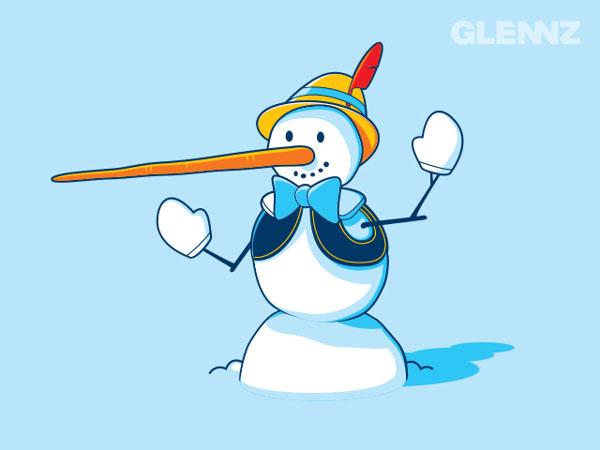 Snow-Pinocchio