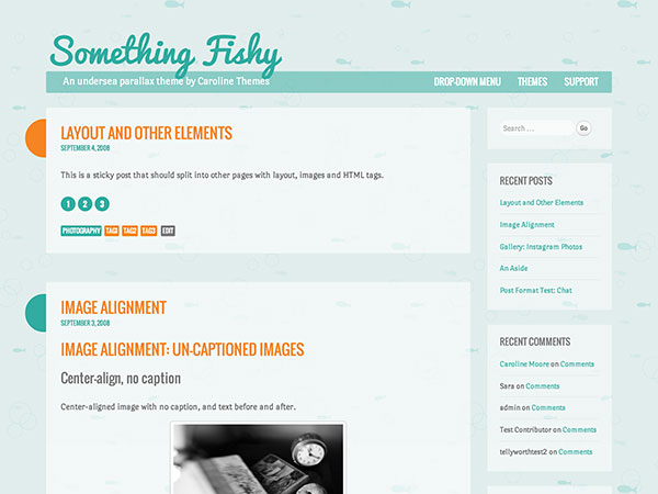 Something-Fishy-Girly-responsive-Wordpress-Theme