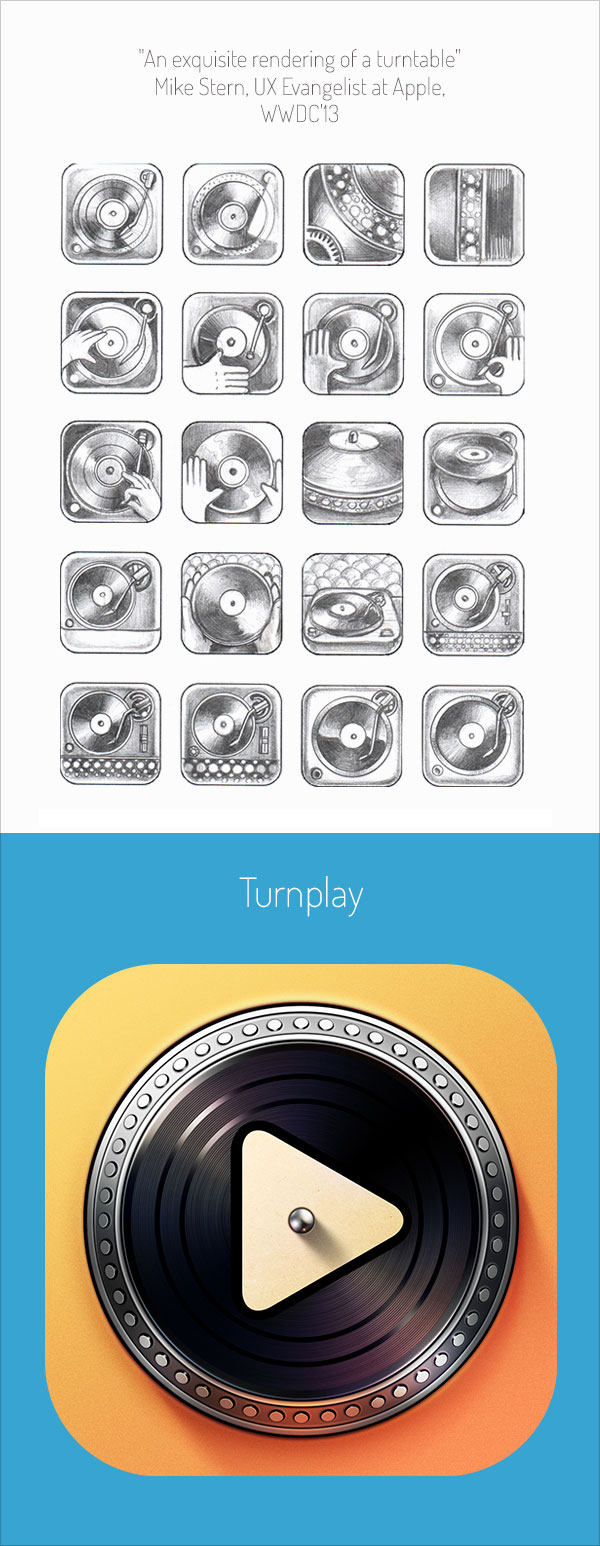 Stunning-Realistic-iOS-App-Icons-&-Sketching-for-Inspiration-1