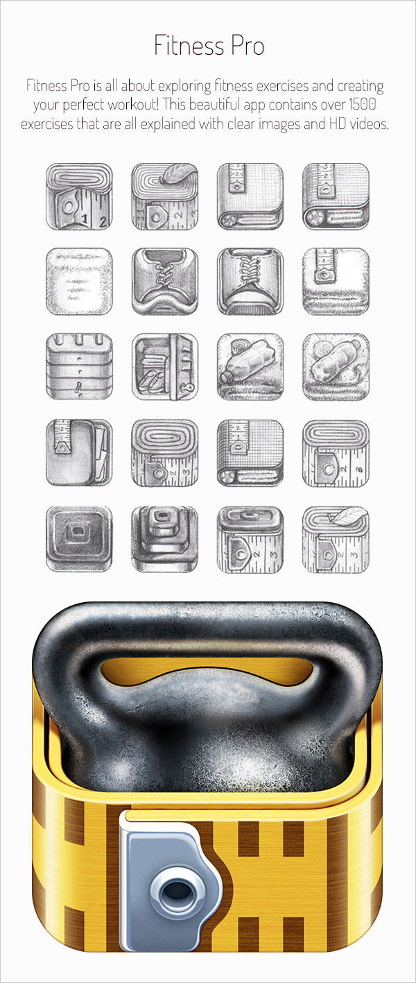 Stunning-Realistic-iOS-App-Icons-&-Sketching-for-Inspiration-12