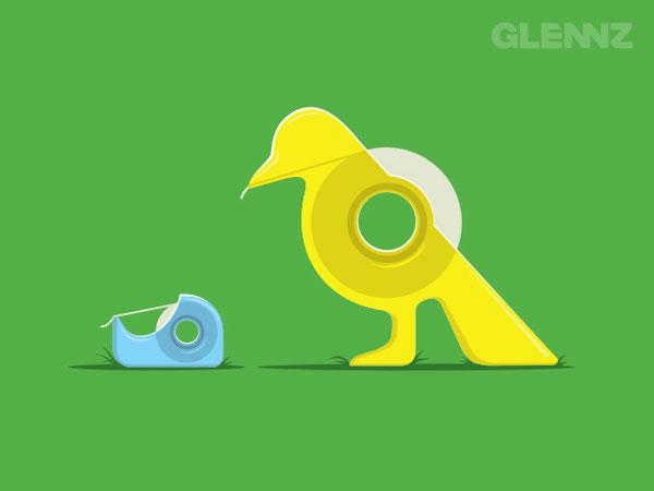 Tape-Bird