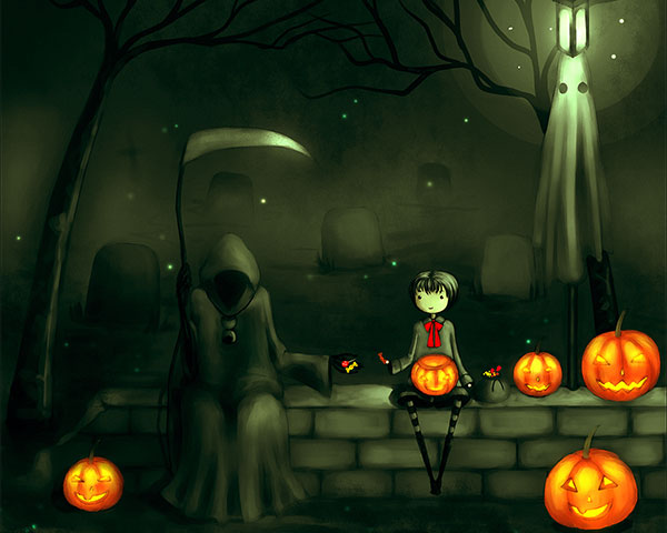 cute halloween wallpaper-#24