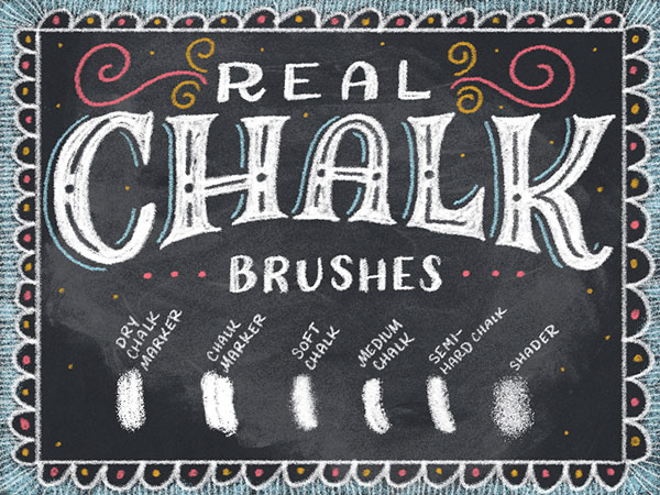 Free-Real-chalk-Brushes