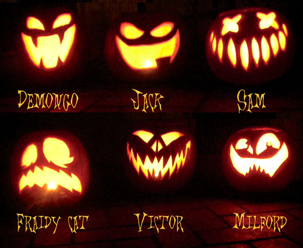 jack o lantern scary halloween pumpkin ideas collection - Cool Halloween Designs