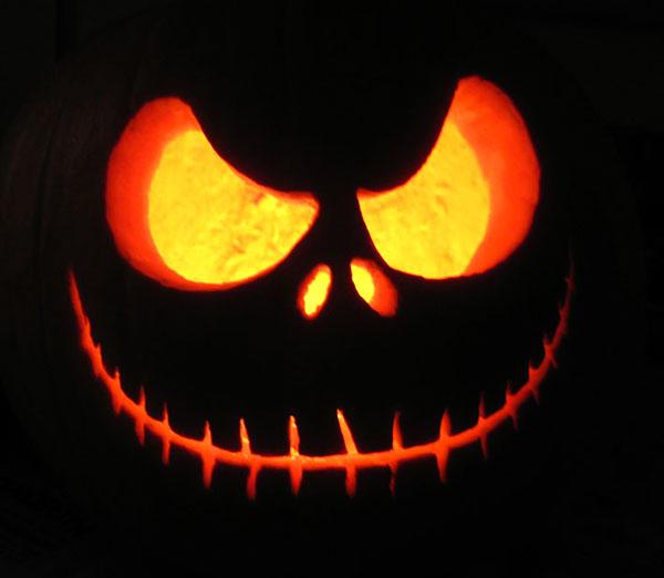 Jack-Skellington-o-lantern-Pumpkin