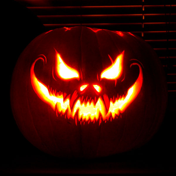 scary_pumpkin_carving ideas 2014 - Cool Halloween Pumpkin Designs