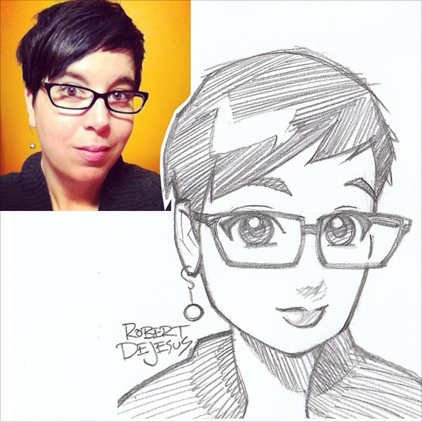 Strangers-as-Anime-Inspired-Sketches-Rober DeJesus (7)
