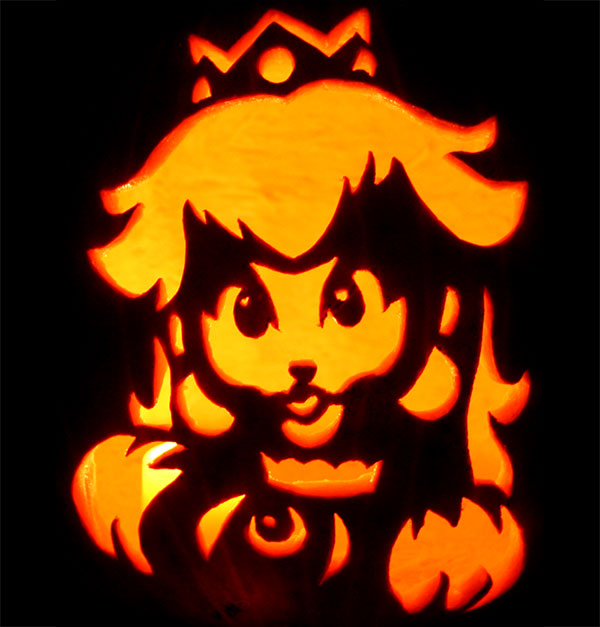 Sweet-Peach-Pumpkin-Carving-For-Kids