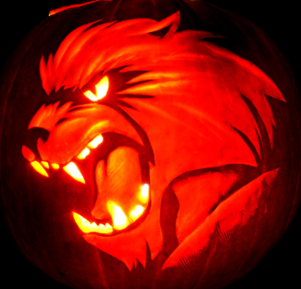 60 best cool creative scary halloween pumpkin carving Awesome pumpkin designs