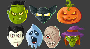 30+-Free-Halloween-Vectors,-PSD,-Icons-&-Party-Posters-for-2014
