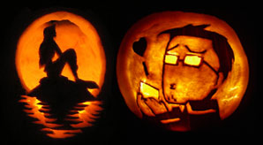 70 best cool scary halloween pumpkin carving ideas designs 2014 - Cool Halloween Pumpkin Designs