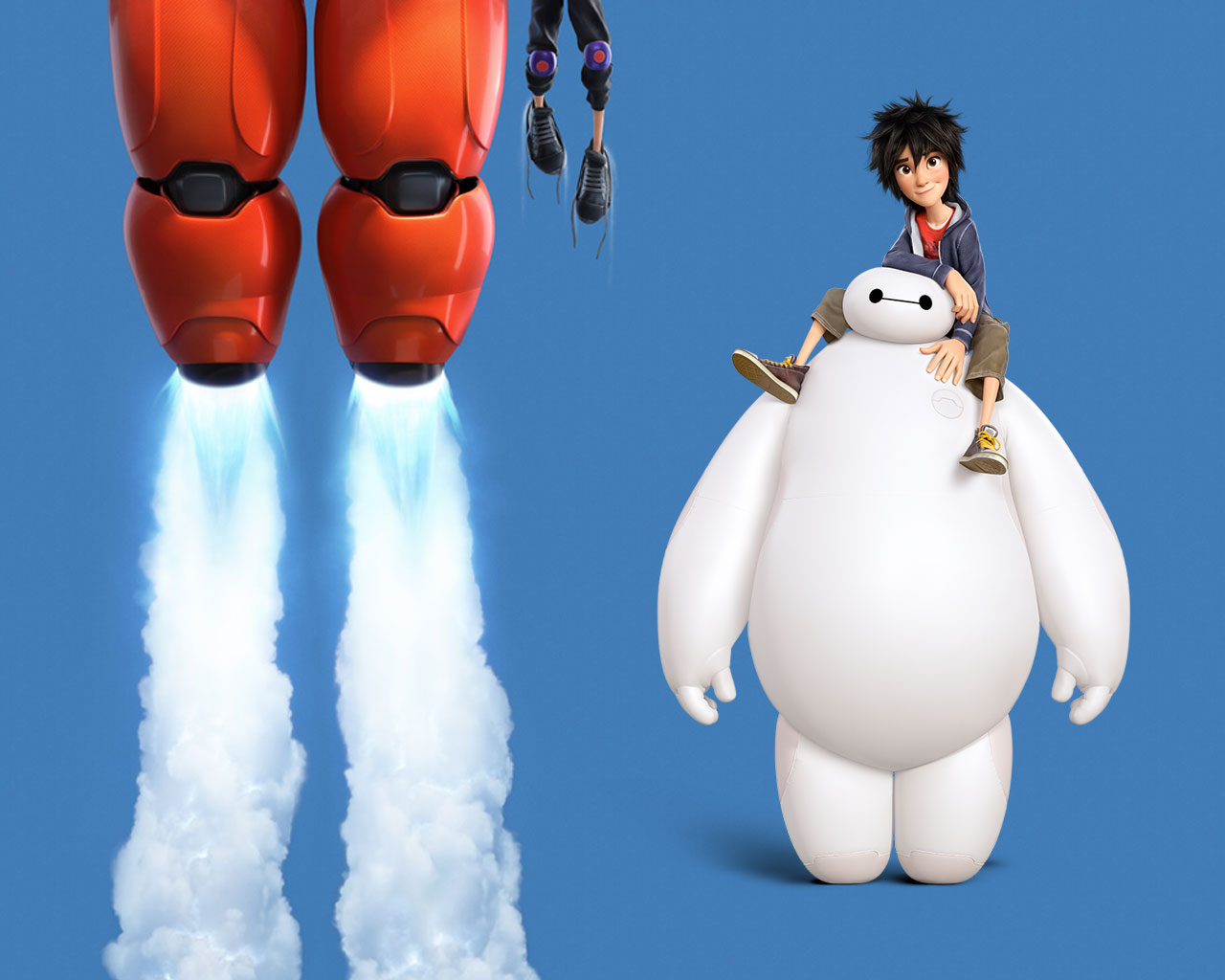 Big Hero 6 Baymax And Hiro Wallpaper | www.imgkid.com