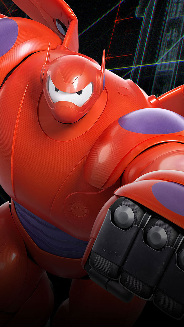 Disney Movie Big Hero 6 2014 Desktop & IPhone Wallpapers HD