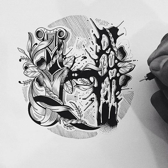 Beautiful-Detailed-Hand-Lettering-by-Raul-Alejandro-(4)