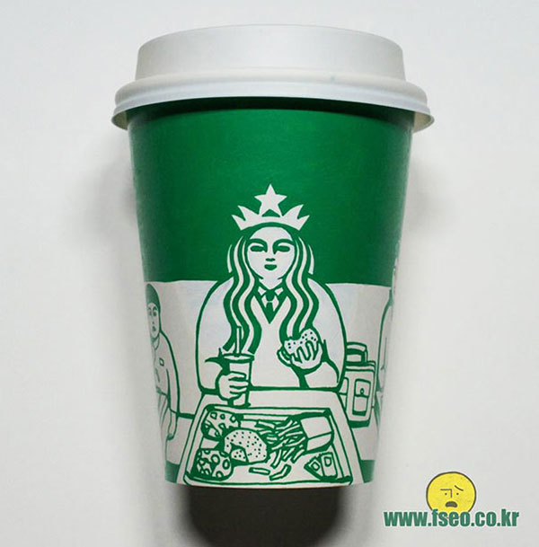 Creative-Yet-Funny-Illustrations-with-Starbucks-Logo-Soo-Min-Kim (20)