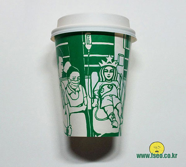Creative-Yet-Funny-Illustrations-with-Starbucks-Logo-Soo-Min-Kim (23)