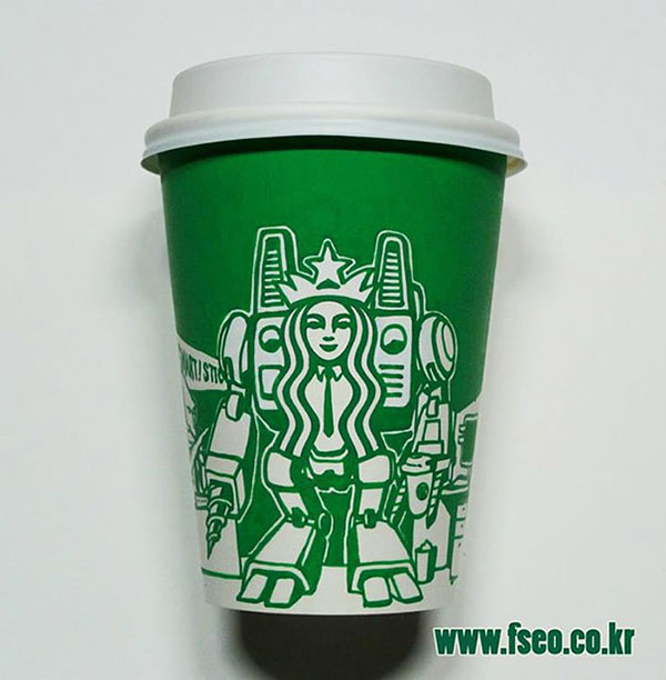 Creative-Yet-Funny-Illustrations-with-Starbucks-Logo-Soo-Min-Kim (27)