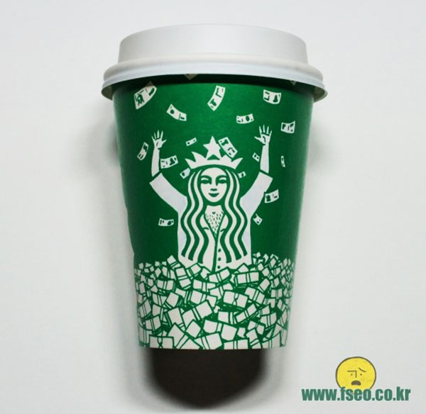 Creative-Yet-Funny-Illustrations-with-Starbucks-Logo-Soo-Min-Kim (3)