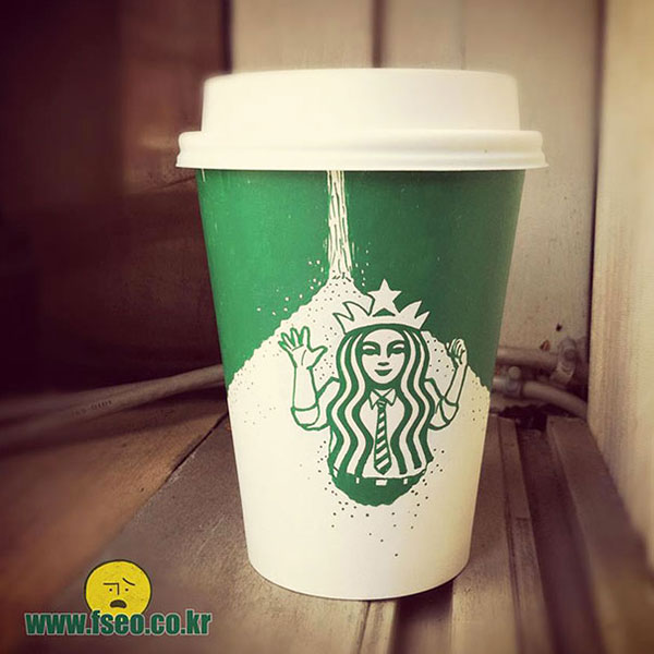 Creative-Yet-Funny-Illustrations-with-Starbucks-Logo-Soo-Min-Kim (30)