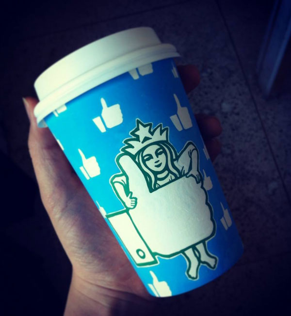 Creative-Yet-Funny-Illustrations-with-Starbucks-Logo-Soo-Min-Kim (6)
