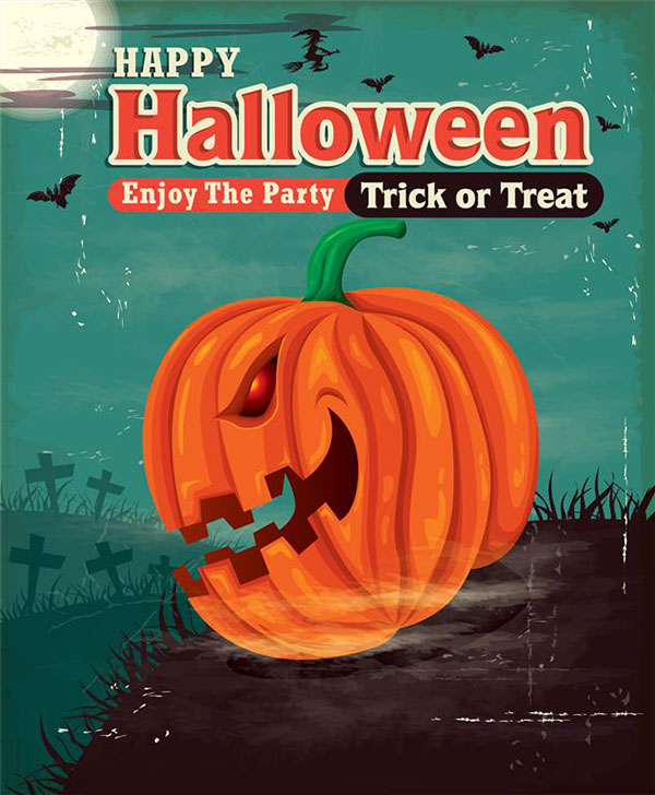Free-Halloween-Party-poster-design