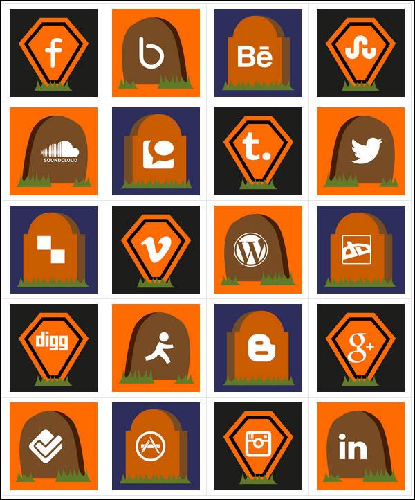 Free-Halloween-Social-Icons