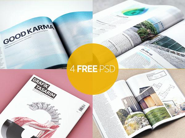 Free-Magazine-Mockup-PSD
