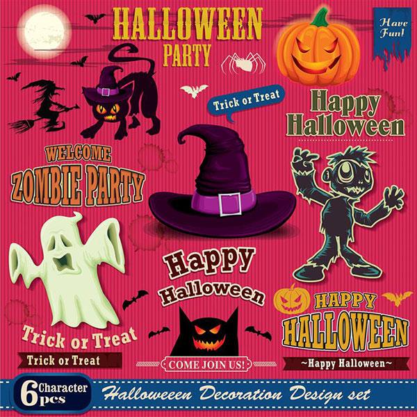 Free-halloween-Vectors