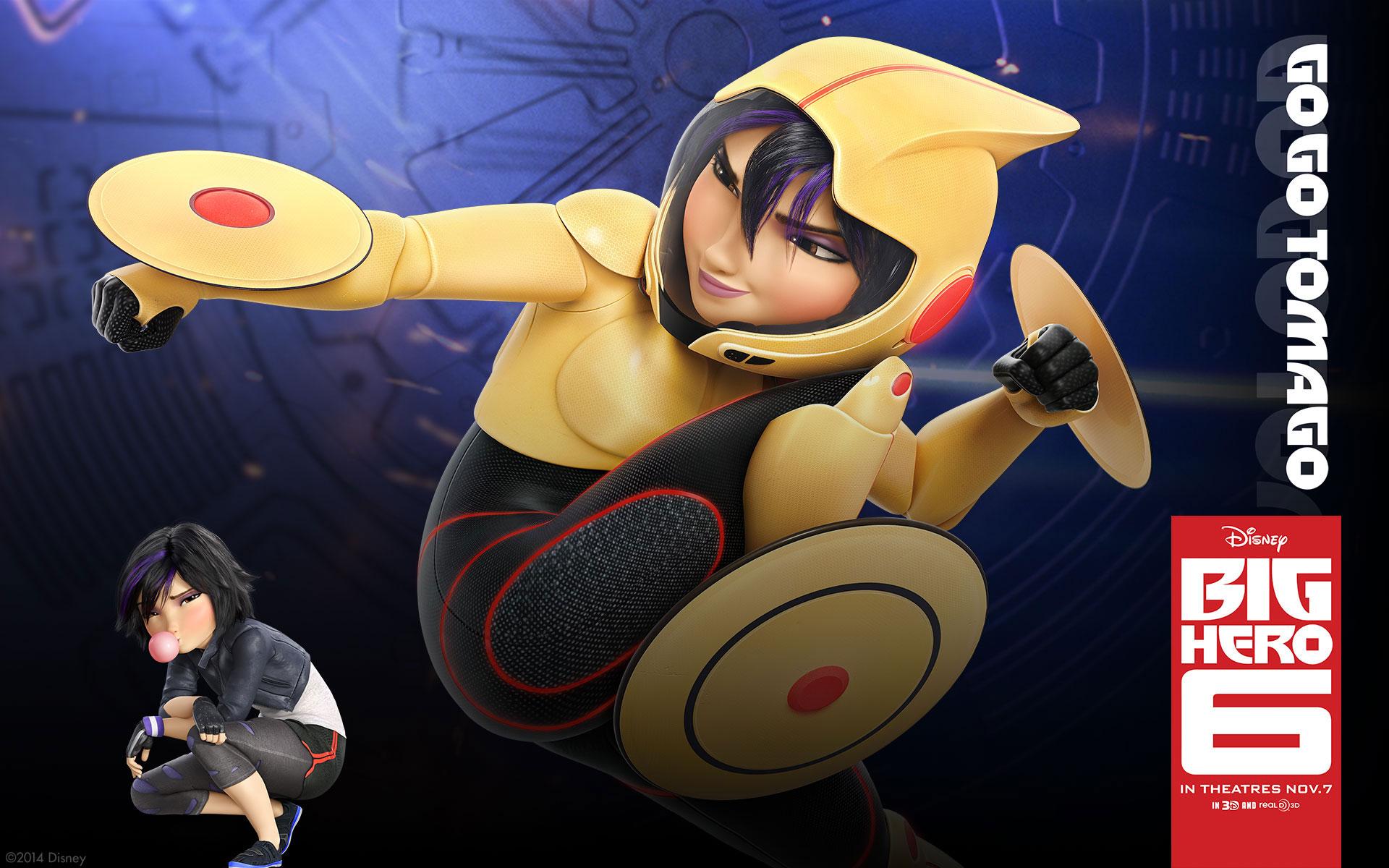 Disney Movie Big Hero 6 (2014) Desktop & iPhone Wallpapers HD