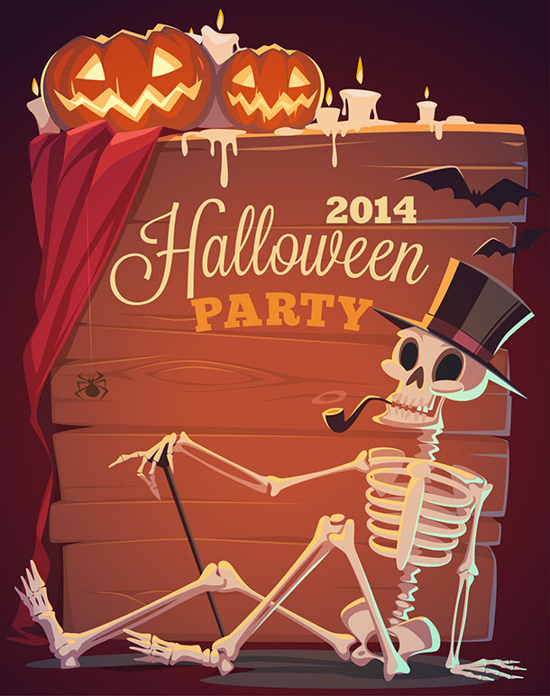 Halloween-2014-party-Poster