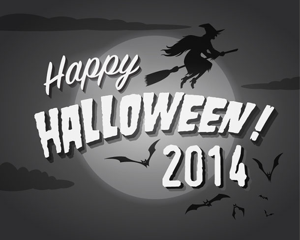 Happy-Halloween-2014-Typography