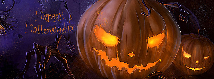 20 Scary Happy Halloween 2014 Facebook Cover Photos
