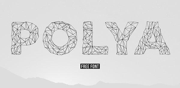 POLYA-Free-Thin-Line-Font