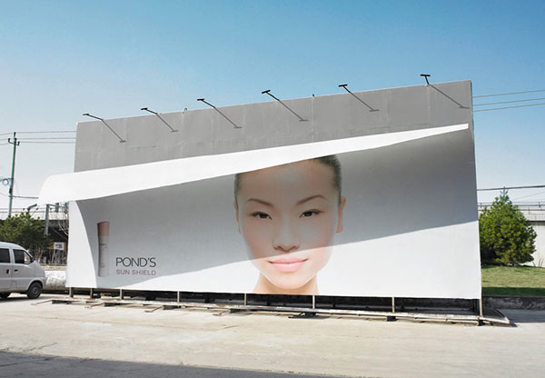 POND'S-Creative-Billboard-Advertisement
