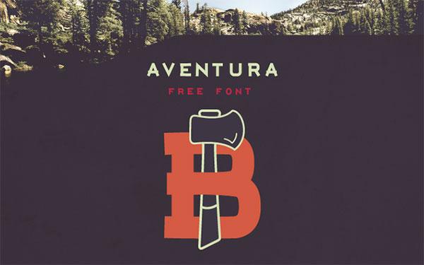 AVENTURA--Free-Downlod-Typeface