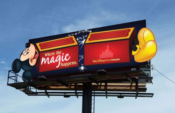 Walt-Disney-World-Orlando-Creative-Billboard-Design-2