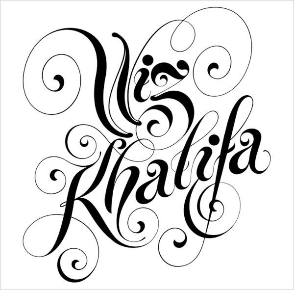 Wiz-Khalifa-Typography