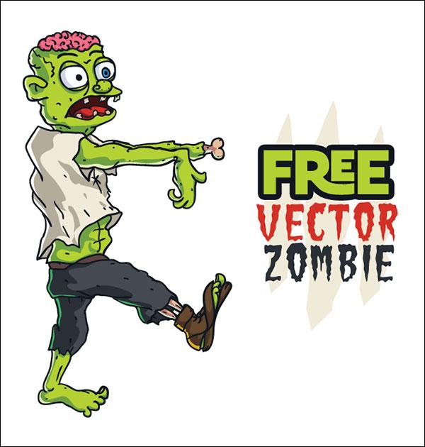 free_vector_zombie-AI