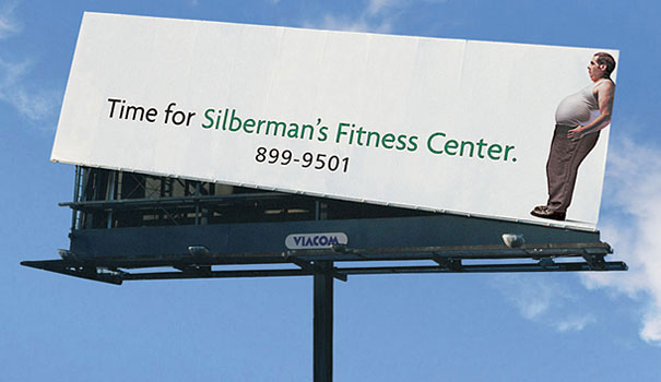 silbermans-Fitness-billboard-outdoor