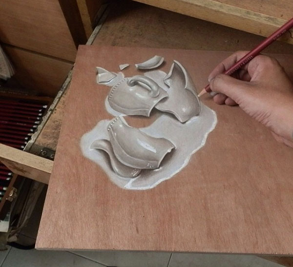 18 Amazing Photo-Realistic Wood Board Pencil Drawings by Ivan Hoo (10)