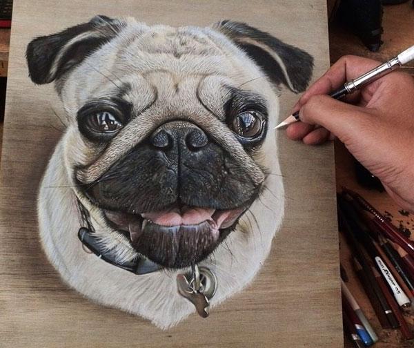 18 Amazing Photo-Realistic Wood Board Pencil Drawings by Ivan Hoo (14)