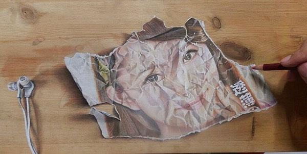 18 Amazing Photo-Realistic Wood Board Pencil Drawings by Ivan Hoo (6)