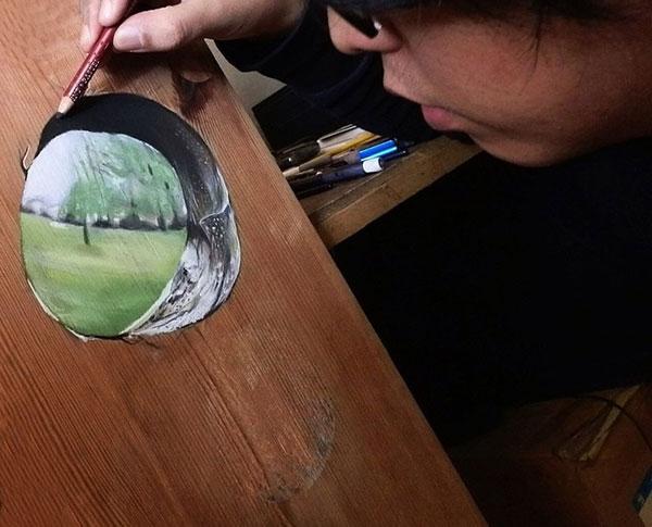 18 Amazing Photo-Realistic Wood Board Pencil Drawings by Ivan Hoo (7)