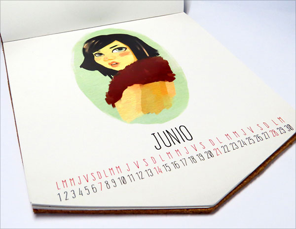 Characters-Calendario-2015-Design-4
