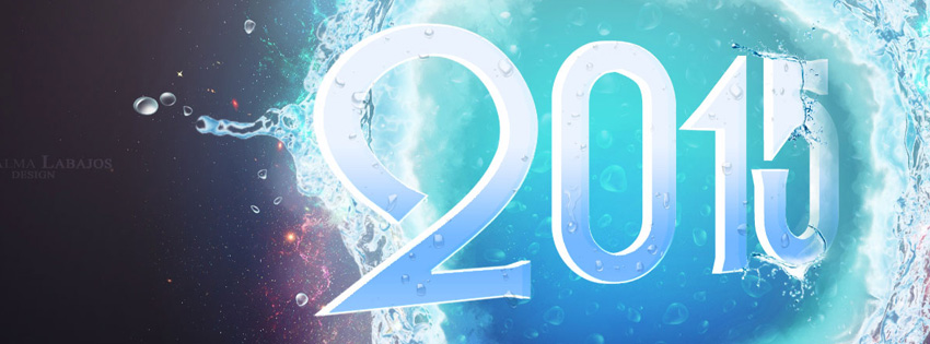 Cool happy new year 2015 facebook timeline cover بوستات بمناسبه راس السنه 2015  منشورات facebook بمناسبة راس السنة 2016