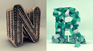 Creative-Alphabet-3D-Typography-Inspiration-by-Alexis-Persani