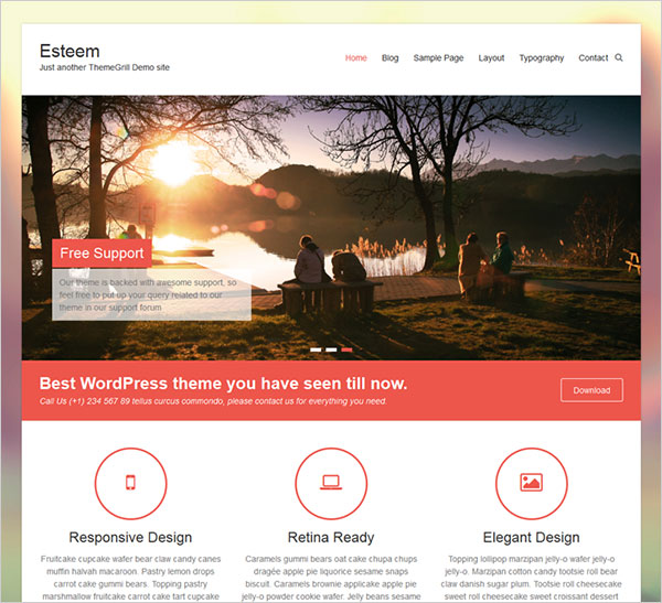 Esteem-clean-multipurpose-responsive-WordPress-theme-2015