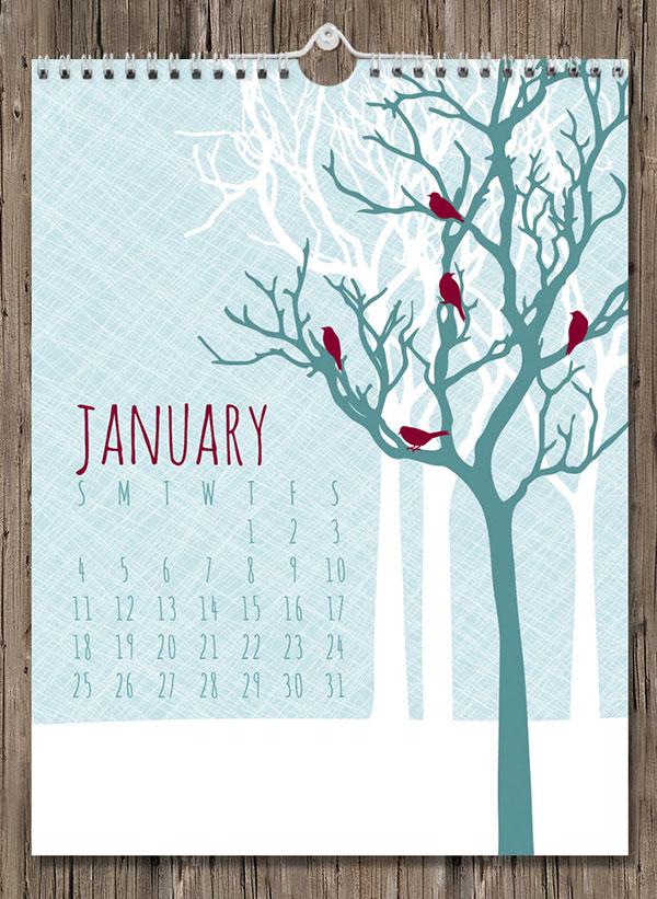 Flora-Wall-Calendar-2015
