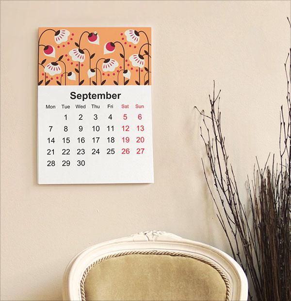 Floral-Calendar-2015-Design